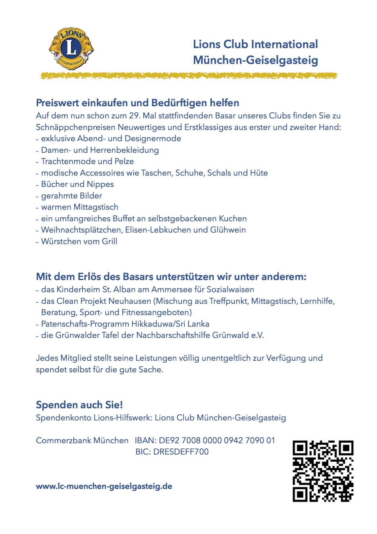 Lions-Club München-Geiselgasteig